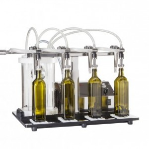 מילוי בקבוקים וואקום 4 פיות כולל פילטר ומנוע
